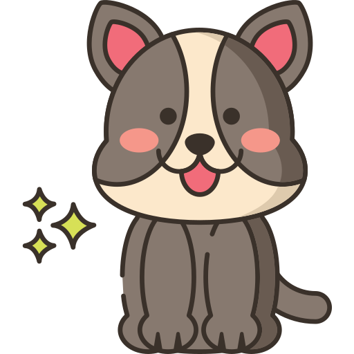 Small puppy icon